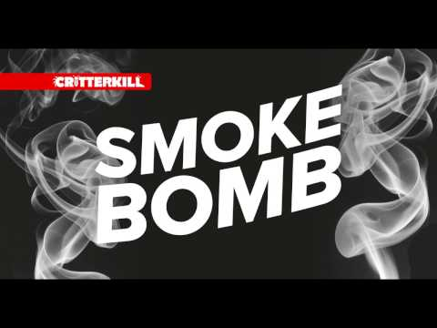 CritterKill Smoke Bomb - Kills Fleas Moths Bed Bugs & All Crawling And Flying Insects
