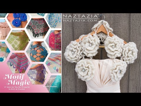 Review of Kristin Omdahl's Motif Magic Knit and Crochet Book - by Naztazia