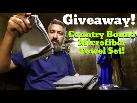 Giveaway! Country Bound Microfiber Towel Set!