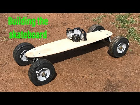 building a 49CC motorized skateboard part 1