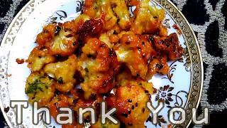 cauliflower fry │ gobi fry │ Indian Recipes │ snack