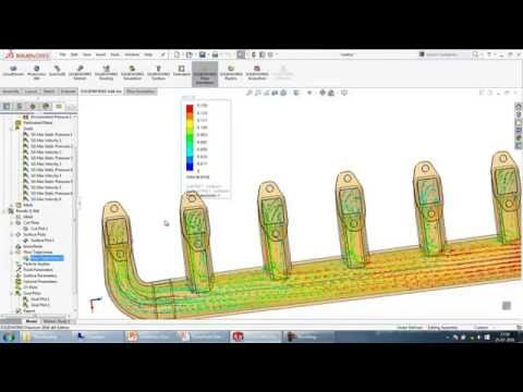 Evaluate and optimize fluid flow and thermal performance of PCB's and electronic components