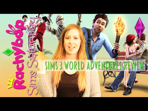 The Sims 3 World Adventures Expansion Pack Review | Rachybop