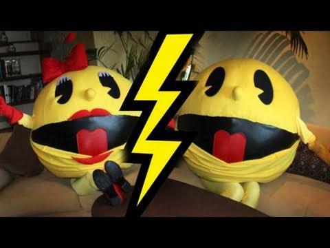 Mr & Ms Pac Man's Nasty Break-Up!!