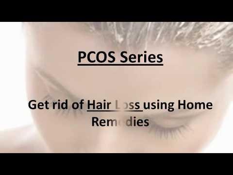 PCOS Series - Get rid of hair loss using home remedies - (Urdu/hindi n English)