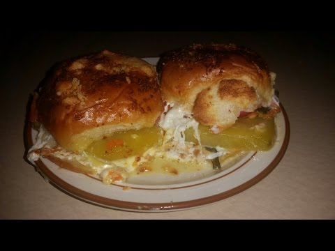 Golden Beet Slider Sandwiches with Fresh Mozarella and Fixings