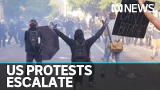 Military police deployed to streets of Washington | ABC News
