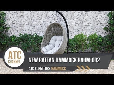 New Product Rattan Hammock Hanging Chair | RAHM-002 | 4K Video