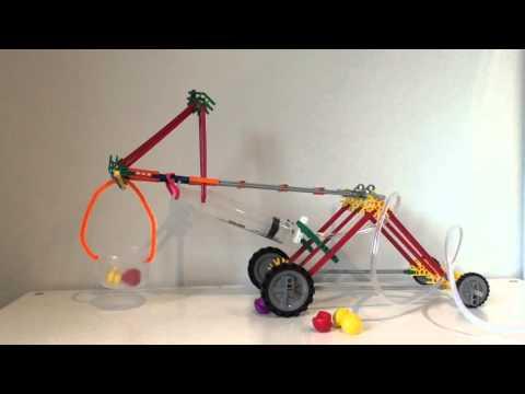 Easy K'nex Pneumatic Crane