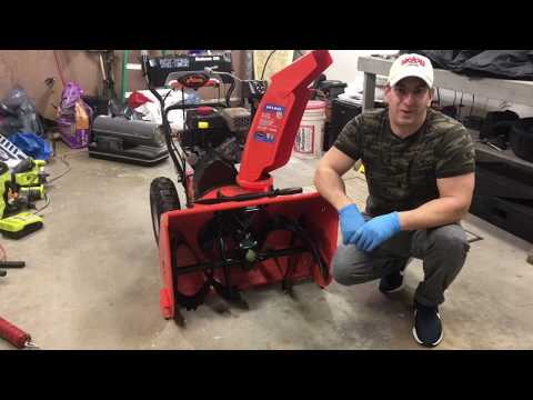How To Replace Snowblower Shear Pin