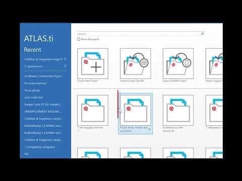ATLAS ti 8 Windows-Switching Libraries
