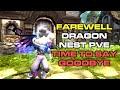 Serious Dragon Nest Pve Talk W Aikawakazu Time To Say Goodby