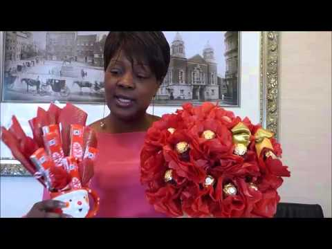 Chocolate Bouquet Training Class Testimonial Ferrero Rocher by Neelam Meetcha