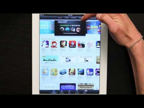 How to Browse the Apple App Store Without iTunes on the iPad : Tech Yeah!