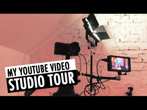 Video Studio Tour | My Setup For Making YouTube Videos | RehaAlev