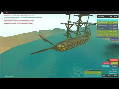 [ROBLOX] Whatever floats your boat : Pirate ship?