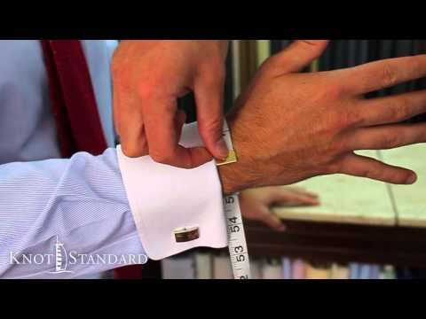 How To Measure Your Suit - Around The Wrist