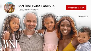 McClure Twins Family: What It's Like to Raise Social Media Stars | WSJ