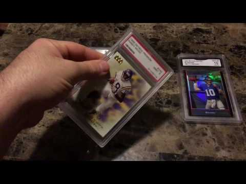 Card grading review. Who has best cases and price? BGS PSA GMA