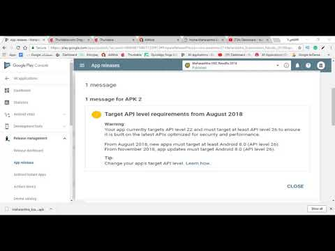 Google console new warning ! Upgrade Android API level 26 || Target android Oreo 8.0