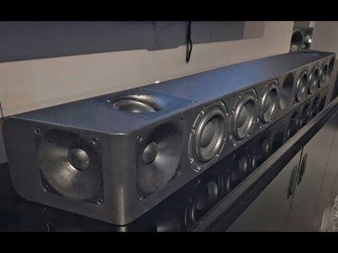 DIY Homemade HiFi Soundbar (REAL)