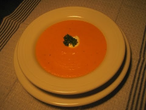 CREAMY CARROT SOUP - How to make an easy CARROT SOUP Recipe