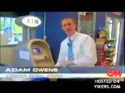 Guy Hacks ATM Machine And Gets Free Money!