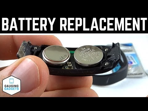 Garmin Vivofit Battery Replacement Tutorial - Vivofit How To