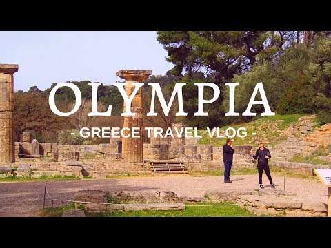 ANCIENT OLYMPIA GREECE - TOUR and VLOG -2018