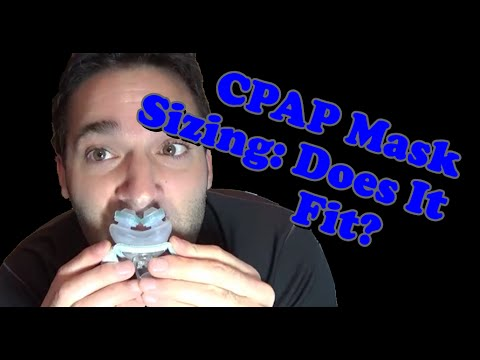 How to Size a Full Face, Nasal, Nasal Pillow, and Hybrid CPAP Mask: What Size will Fit Best?