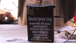 Home security notification system in Pakistan - watch video