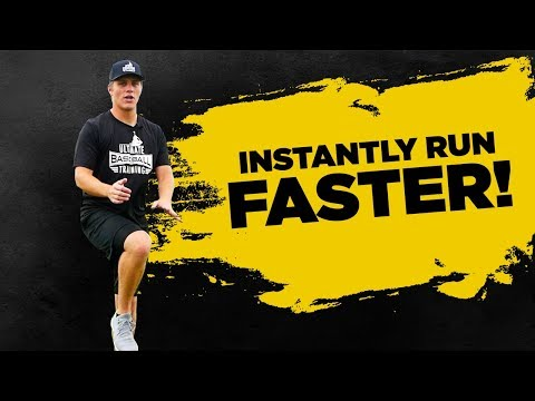 5 Tips to INSTANTLY Run Faster In Baseball!