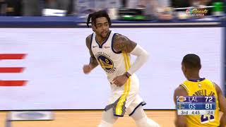 D'angelo Russell Has Breakout Game for Warriors, 29 Points and 6 Threes