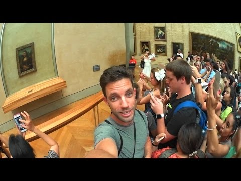 My 2nd Day in Paris! Inside Notre Dame & Musee du Louvre..