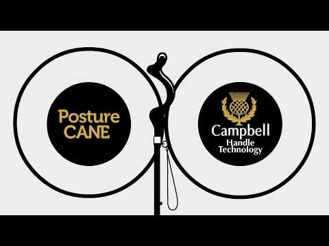 The Posture Cane - The best cane on the market that gives you better posture and balance