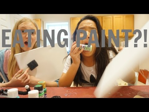 EATING PAINT?!