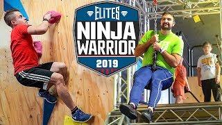 NINJA WARRIOR CHALLENGE!!! | Elites