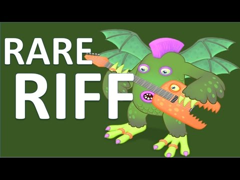 I've just found one more Rare Riff on Air Island - My Singing Monsters