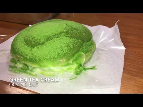 Breadtalk Messy Bun Green Tea Singapore 2018