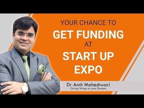 How to Get Funding   MEGA STARTUP EXPO   Dr. Amit Maheshwari
