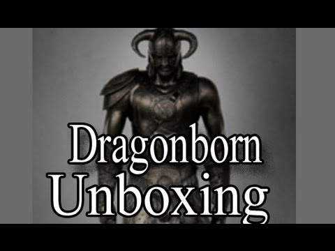 Skyrim Statue Unboxing: Building the Dragonborn