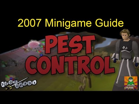 Runescape 2007 Pest Control Guide