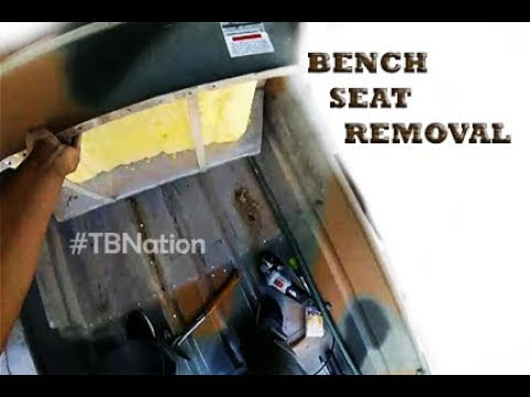 Removing Bench Seats in Jon Boats. #TBNation