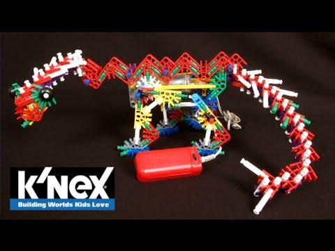 Beasts Alive K'nexosaurus Rex Building Set from K'NEX