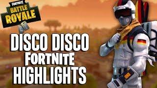 Disco Disco!! Fortnite Highlights! Ninja
