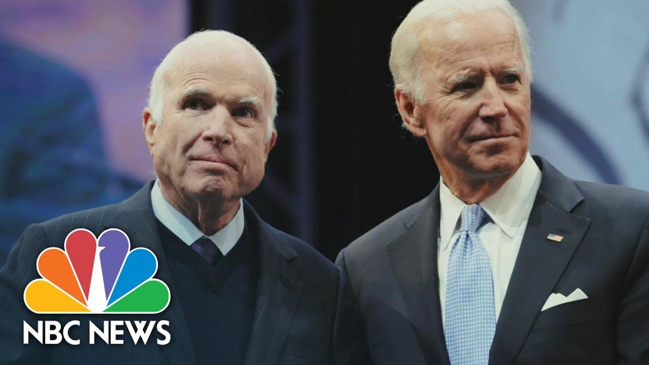 Cindy McCain Honors Friendship Between Joe Biden And John McCain At The 2020 DNC | NBC News