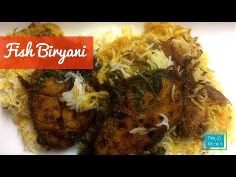 Fish biryani - Ayakoora biryani - Malayalam