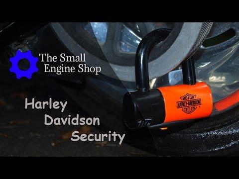 Harley Davidson Shackle Lock Kit, part #94868-10