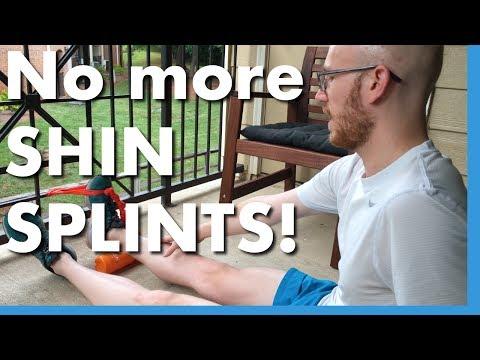 GET RID OF SHIN SPLINTS (How I did it!)