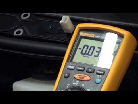 HEV-TV 1.16: Checking Voltage on Electric Machines